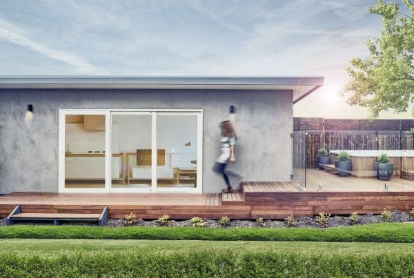 Foster granny flat from The Garden Studios Melbourne