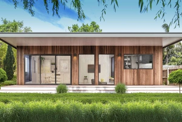 One of our recent projects the Bawa Garden Studio built in Melbourne