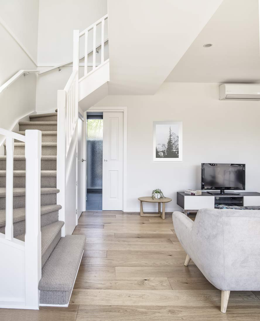 The interior of one of our granny flats