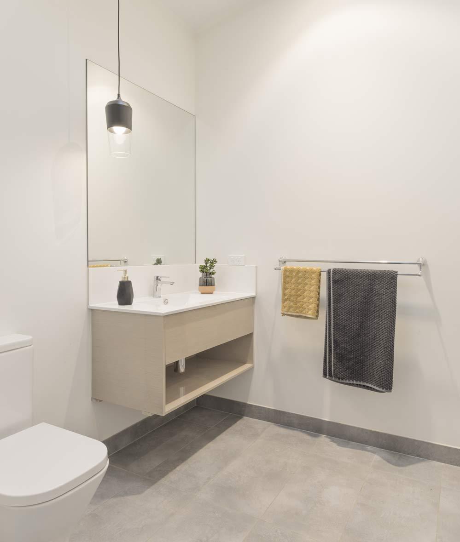 Bathroom interior of a granny flat