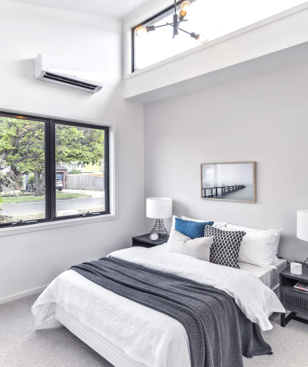 garden studio bedroom interior