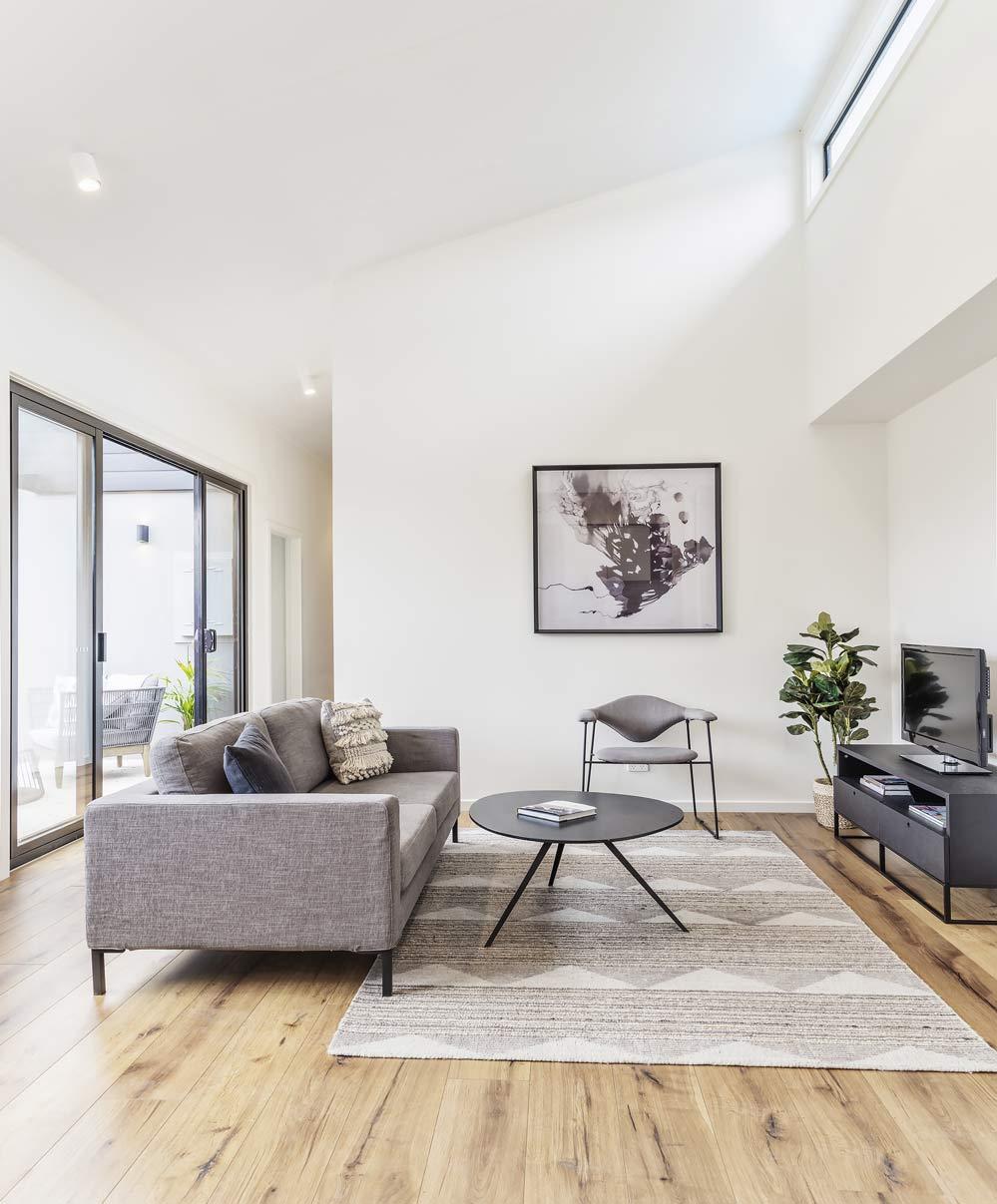 interior living hallway granny flat