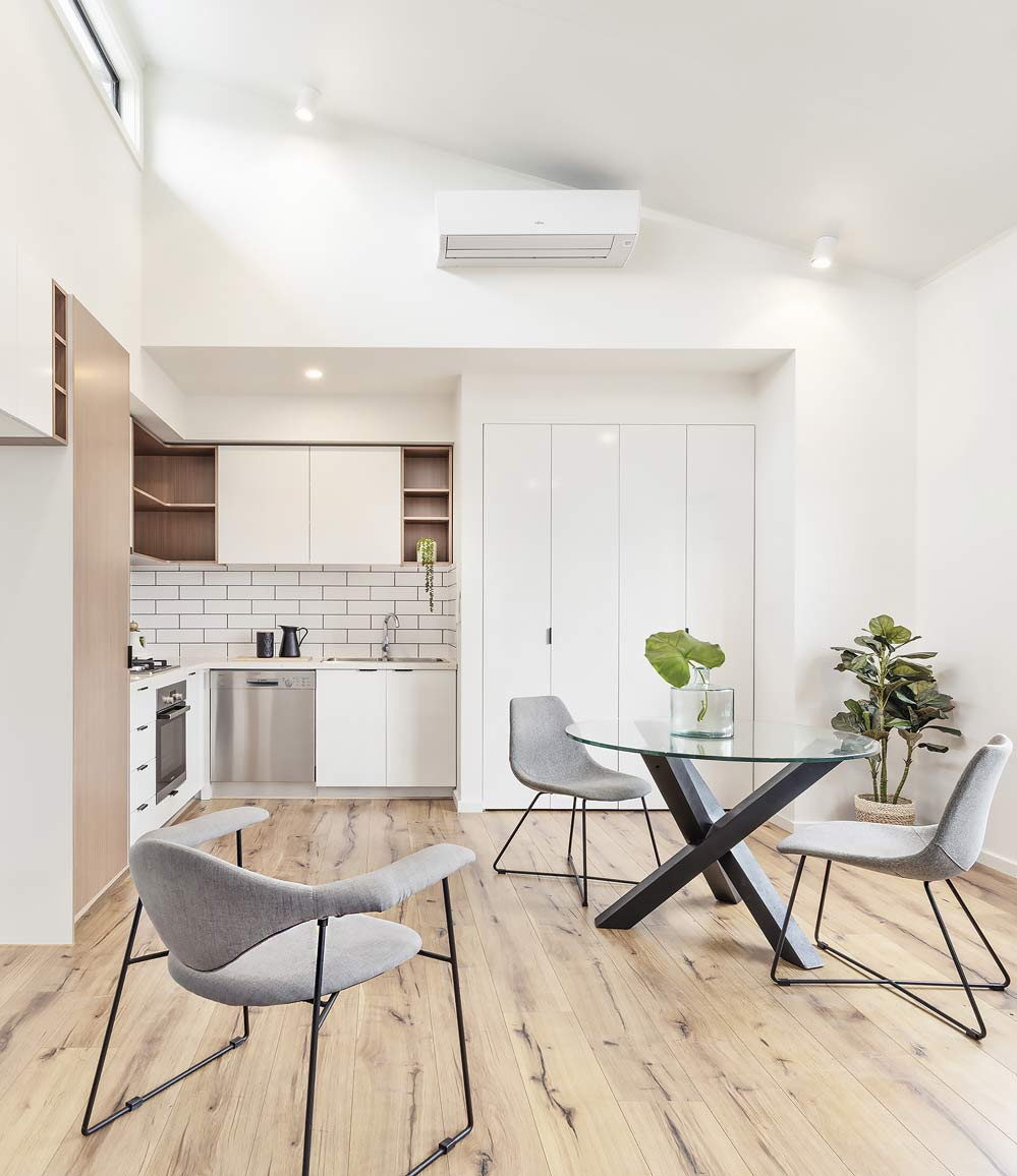 Living Kitchen Granny Flat Design | Garden Studios Melbourne