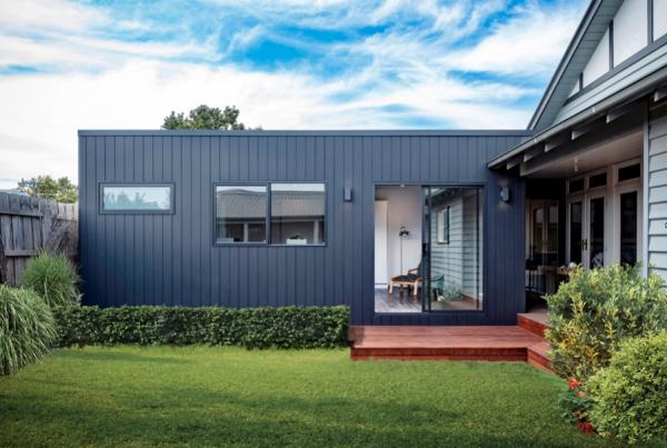 modular home extension