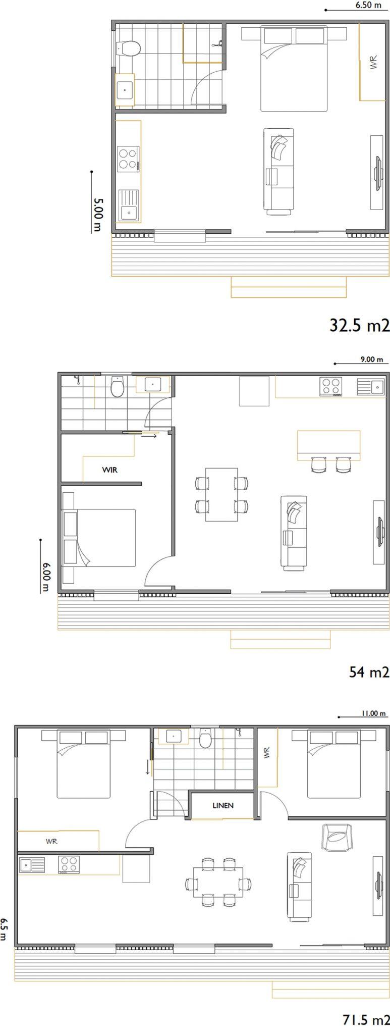 Mies Granny Flat Floor Plans